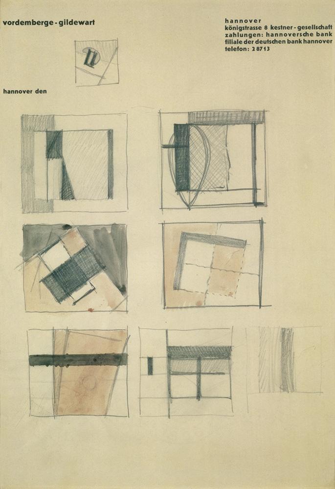 Friedrich Vordemberge-Gildewart - D 109