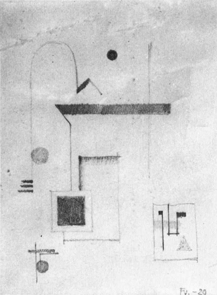 Friedrich Vordemberge-Gildewart - D 12