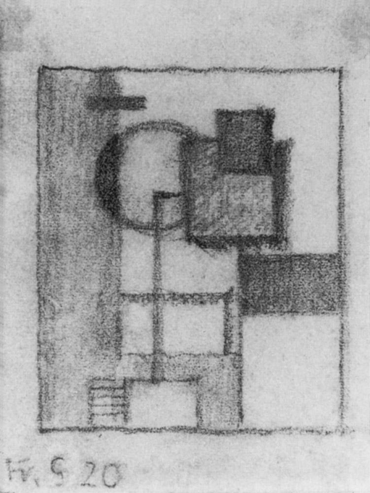 Friedrich Vordemberge-Gildewart - D 13