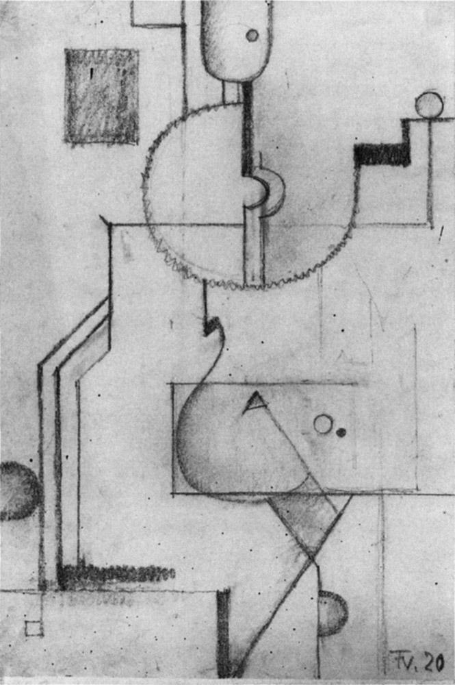 Friedrich Vordemberge-Gildewart - D 14