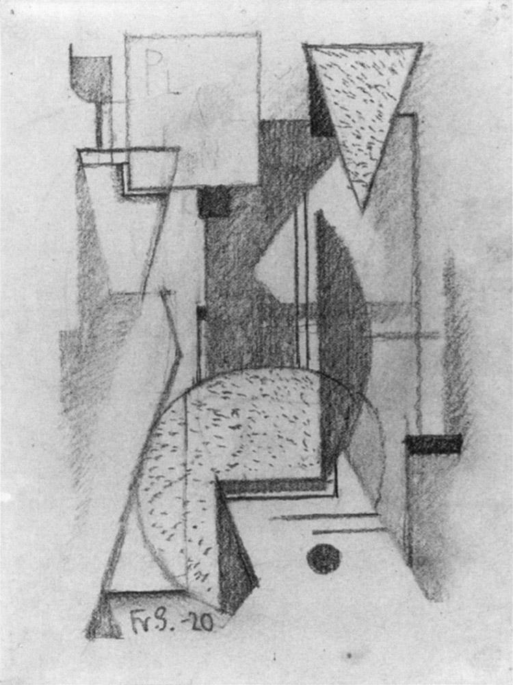 Friedrich Vordemberge-Gildewart - D 15