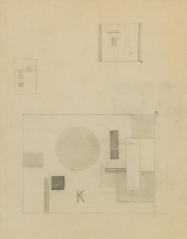 Friedrich Vordemberge-Gildewart - D 24