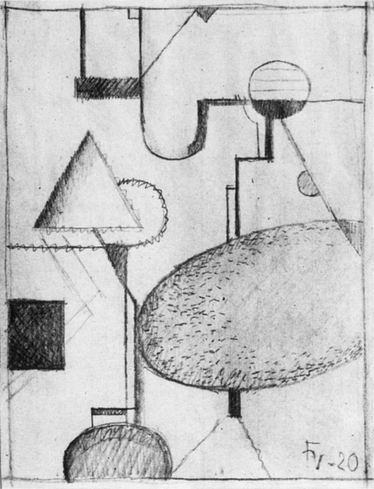 Friedrich Vordemberge-Gildewart - D 5