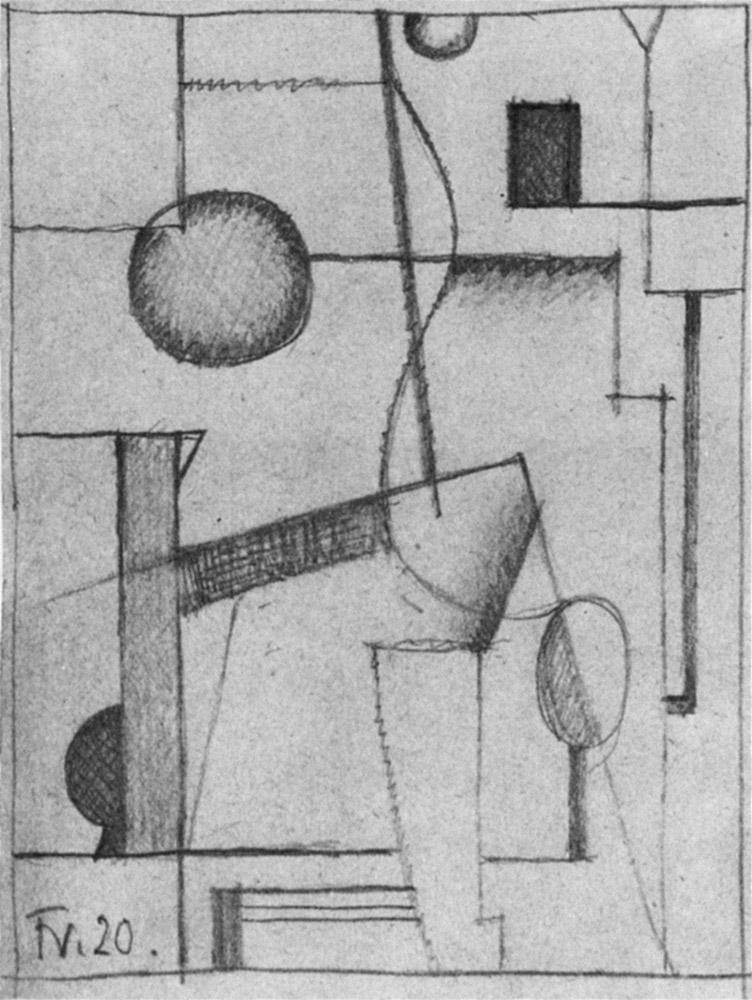Friedrich Vordemberge-Gildewart - D 6