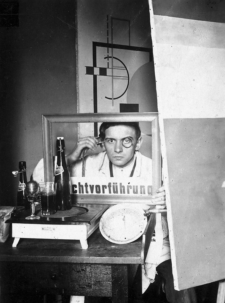 VG in his studio, Hanover 1924